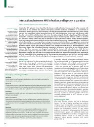 Interactions between HIV infection and leprosy: a ... - ResearchGate