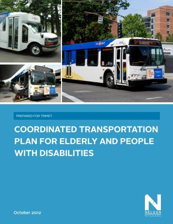 coordinated transportation plan for elderly and people with ... - TriMet