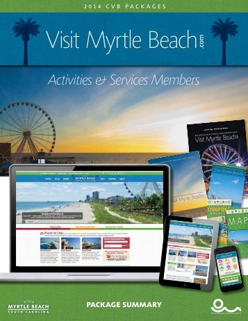 Activities & Services Members Packaging - Myrtle Beach Area ...