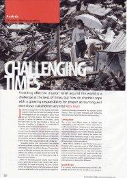 Challenging Times - Alex Blyth