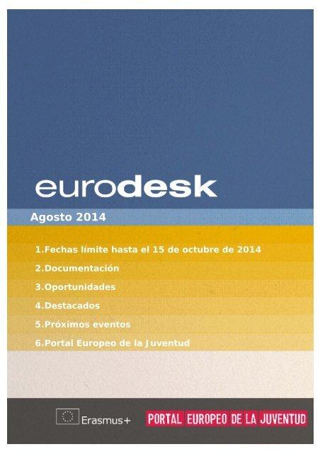 Boletin Eurodesk Agosto 2014