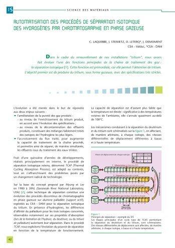 Téléchargez l'article [PDF - 164Ko] - Physique/Chimie - CEA