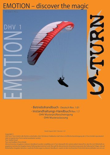 Emotion Handbuch - U-Turn Paragliders