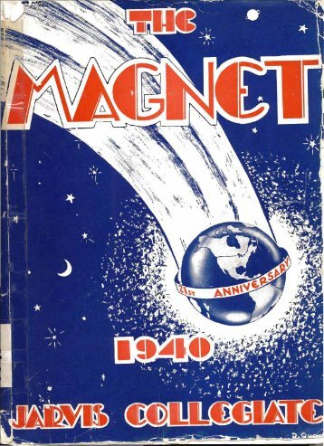 1940 Magnet Yearbook