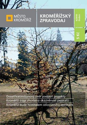 Vydání - 4 / 2010 - Město Kroměříž