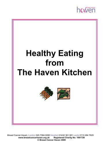 General Nutritional Advice - The Haven