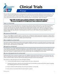 CT Primer Feb 2010.pub - American Cancer Society Cancer Action ...
