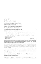 ZONDERVAN NIV Bible Study Commentary Copyright © 2011 by ...