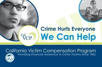 General Information Brochure - California Victim Compensation and ...