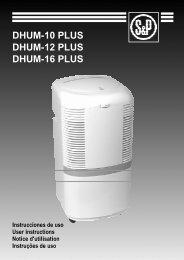 DHUM-10 PLUS DHUM-12 PLUS DHUM-16 PLUS - Soler & Palau