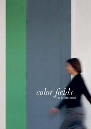 NEU! COLOR FIELDS Katalog 2013 - acousticpearls
