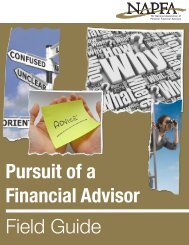 Pursuit of a Financial Advisor Field Guide - Financial Service Group