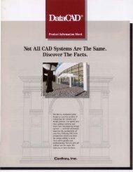 DataCAD Brochure 1991