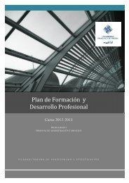 Plan de Formación y Desarrollo Profesional - La UFV - Universidad ...