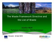 The Waste Framework Directive and the List of Waste