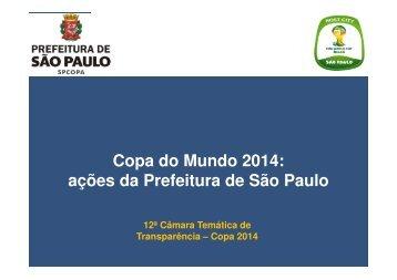 Copa do Mundo 2014 - Portal da Transparência