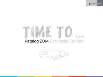 Katalog 2014 Download here - Promodoro