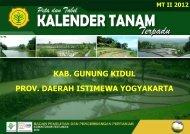 prov. daerah istimewa yogyakarta kab. gunung ... - BPTP Yogyakarta