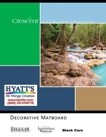 Decorative Matboard Specifier - Crescent Pro