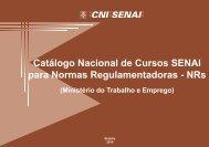 Catálogo Nacional de Cursos SENAI para Normas ... - CNI