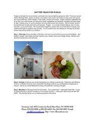 Puglia - Luxury Villas, Italian Villa Rentals, Tuscany Villa, Vacation ...