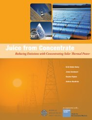 Juice from Concentrate - World Resources Institute