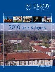 2010 facts & figures - Emory Finance - Emory University