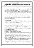 Systematisk sikkerhetsforvaltning i kommunale bygg. Modul 1 - Page 7