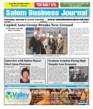 Dec 2010 - Salem Business Journal