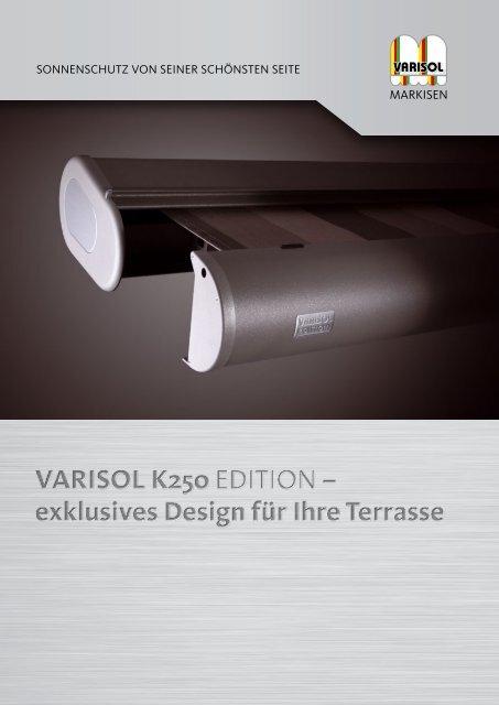 Flyer zur K250 Edition - Varisol
