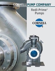 cornell redi-prime - BBC Pump and Equipment