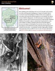 Yosemite National Park Rock Climbing - SuperTopo