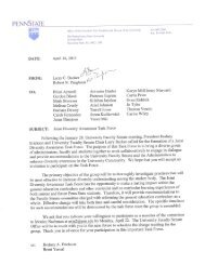 Joint Diversity Awareness Task Force Charge 4/16/13 - University ...