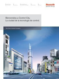 Bienvenidos a Control City. La ciudad de la ... - Bosch Rexroth