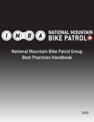 National Mountain Bike Patrol Group Best Practices Handbook - IMBA