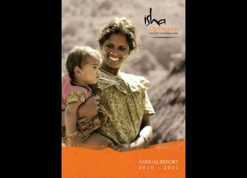 outreach annual report - Isha Outreach