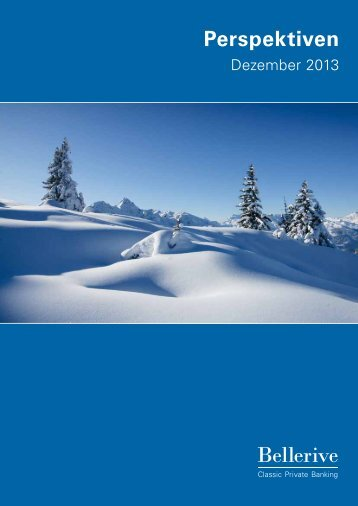 Perspektiven Dezember 2013 - Privatbank Bellerive