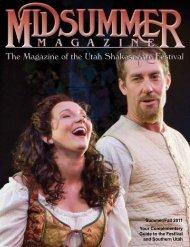 Midsummer Magazine 2011 - Utah Shakespearean Festival