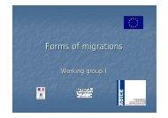 Forms of migrations - Futureplatform.eu