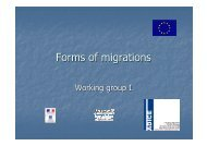 Forms of migrations - Futureplatform.eu