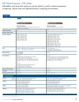 HP ProLiant servers - Family Guide - BL Trading - Page 6