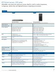 HP ProLiant servers - Family Guide - BL Trading - Page 7