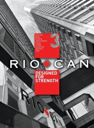 Q3 2009 Report to Unitholders - English version (PDF 2.04 ... - RioCan