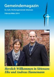 Ausgabe Februar / März 14 ...hier klicken - luth. Kirchengemeinde ...