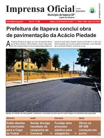 Edição 588 - Itapeva