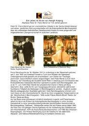 Pater Dr. Franz Mandl - Zum 100. Geburtstag - Mehr hier...