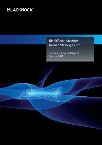 Half Yearly Financial Report (30 June 2011) - BlackRock International