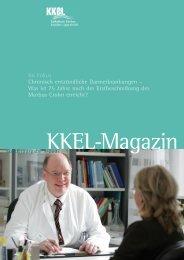 KKEL-Magazin 2007: Chronisch entzündliche Darmerkrankungen