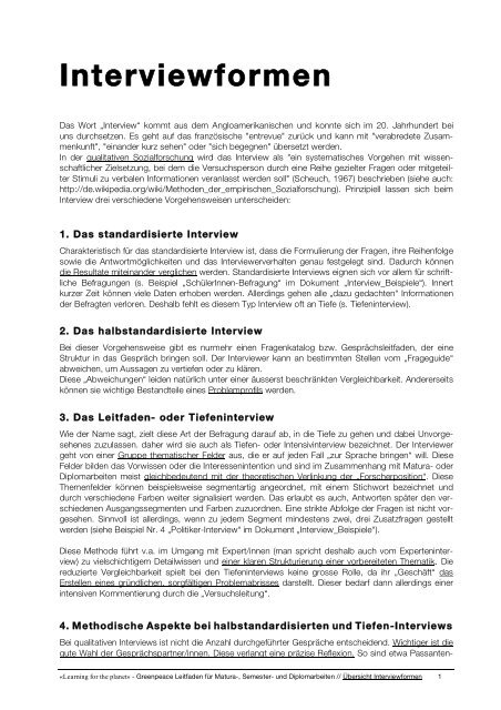 "Pdf Workshop 2b ""Ergänzung - Interviewformen"""