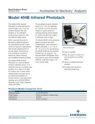 CSI 404B Phototach - Emerson Process Management